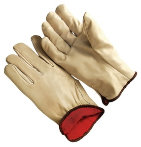 Leather Fleece Lined Cowhide Driver Glove 2 Pack XL S94360RXL at Pollardwater