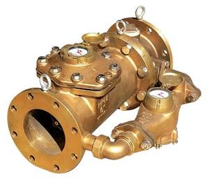 Zenner 1-1/2 in. Female Threaded Water Meter - US Gallons ZPMN08USXPPB