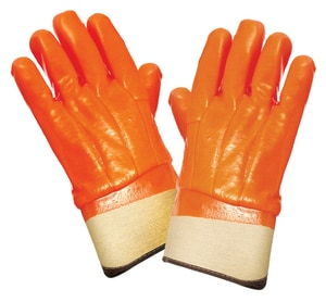 Seattle Glove L Size PVC Insulated Safety Cuff Glove 2 Pack S8940BT at Pollardwater