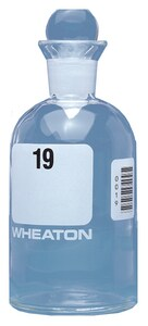 Wheaton Industries 300 mL BOD Bottle w/ Stopper Unnumbered W22749700 at Pollardwater