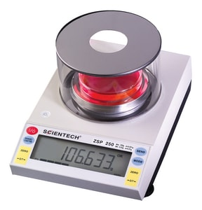 Sciencetech ZSP Series 250 g Digital Scale Single Range Precision Balance SZSP250 at Pollardwater