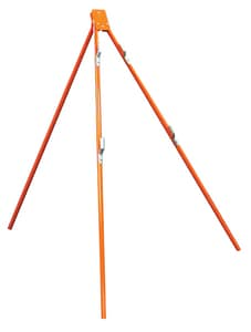 Safety Flag 54 in. Tripod Stand for 48 in. Rigid or Roll Up Signs SRSSTP at Pollardwater
