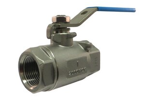 Milwaukee Valve 20 Series 3/4 in. CF8M Stainless Steel Reduced Port FNPT 2000# Ball Valve M20SS0R01F