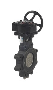 HP Series 8 in. Carbon Steel RPTFE Gear Operator Handle Butterfly Valve MHP1LCS4213UX