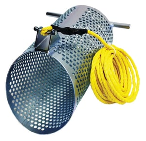 10 DEBRIS GRIT Basket For F/GLS POLE SDB10S