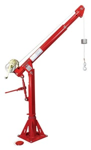 Thern Davit Crane with Spur Gear Winch T5PT10M1 at Pollardwater
