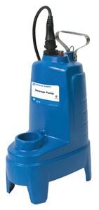 Goulds Pumps 1/2 hp 1-Phase Submersible Sewage Pump GPV51P1 at Pollardwater