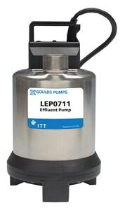 Goulds Pumps 3/4 hp 115V Submersible Effluent Pump GLEP0711AF at Pollardwater
