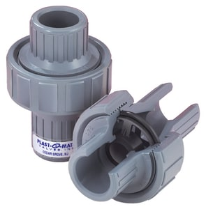 Series CKM 1/2 in. PVC FNPT Check Valve PCKM050VPV at Pollardwater