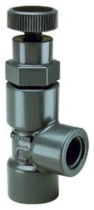 3/4 PVC THRD ANG GLOBE VLV W/ FPM HAV10075T at Pollardwater