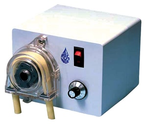 Pulsafeeder Mec-O-Matic Dolphin Series 1/4 in. 60 gpd 25 psi 115V Polycarbonate and PVC Peristaltic Pump PUD50XALSAUXXX at Pollardwater