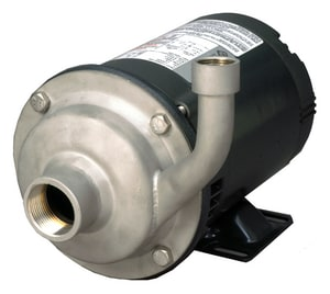 AMT Stainless Steel Straight CENT PUMP 3 HP 1PH 230 Volts A553198 at Pollardwater