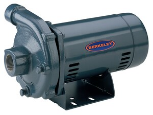 CP Series Lead Law Compliant BERKELEY Straight CENT PUMP Cast Iron HSNG PS39520 at Pollardwater