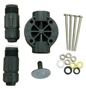 Pulsafeeder 3/8 in. OD PVC Coupling Nut for Pulsatron Series A+, C, C+, E and E-DC Pumps PL1100300PVC at Pollardwater