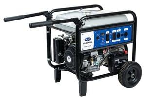Subaru Industrial Power Products 7300W Inverter Generator SSGX7500E