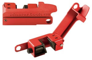 Master Lock Grip Tight™ Reinforced Polymer and Steel Lockout M491B at Pollardwater