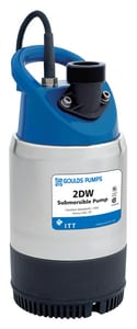 Goulds Pumps 2DW Series 1/2 hp Submersible Dewatering Contractor Pump G2DW0511 at Pollardwater