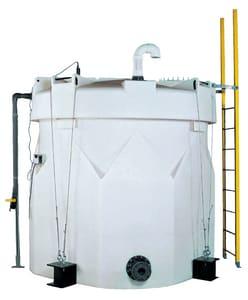 Snyder Captor™ 3000 gal Polyethylene General Chemical Tank S5590000N45 at Pollardwater