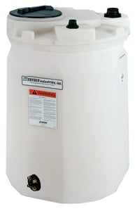 Snyder 60 gal HDLPE Storage Dual Containment Tank S5680002N45 at Pollardwater