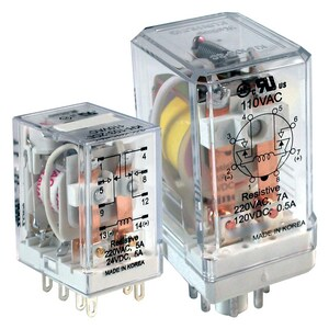 General Purpose RLY 120 Vacuum 3PDT 11 PIN AKAA120ATX at Pollardwater
