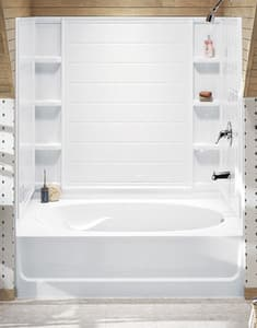 Sterling Ensemble™ 60 x 73-1/4 in. Tub & Shower Wall  in White S711141000