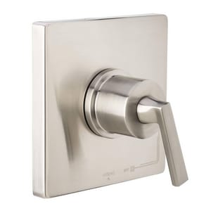 Miseno Elysa Pressure Balancing Valve Trim Only with Single Lever Handle in Brushed Nickel MNOVT650BN
