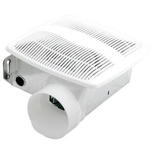 Air-King 50 cfm Ceiling Mount Bathroom Exhaust Fan in White AAS54