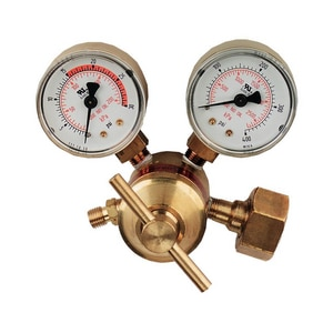 Goss GossWeld™ 3/8 in. Brass Regulator with Fitting GEA25MA