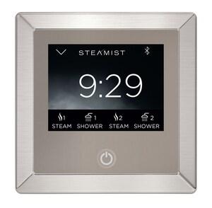 Steamist Total Sense™ WIFI Enabled Steam Bath Control in Brushed Nickel STEA450BN