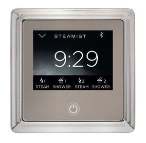 Steamist Total Sense™ Steam Bath Control in Brushed Nickel STEA450TBN