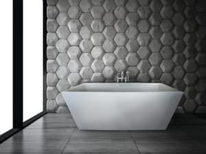 Hydro Systems Sydney 60 x 32 in. 3 Wall Alcove Rectangle Bathtub with Left Hand Drain in White HBEL6032TOWHFW