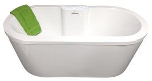 Hydro Systems Eveline 72 x 36 in. Freestanding Bathtub in White HEVE7236ATAWHI
