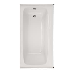 Hydro Systems Regan 72 x 32 in. Bathtub Only in White HREG7232ATOWH