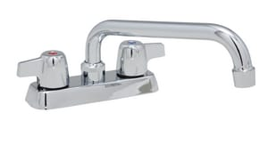 PROFLO® 2-Hole Laundry Faucet with Double Lever Handle in Polished Chrome PFWSC1120CP
