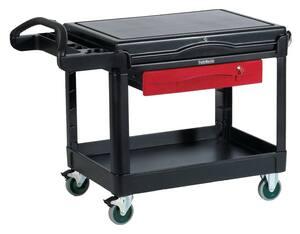 Rubbermaid Full Extension Drawer Kit for Rubbermaid 3442663 HD 2-Shelf Utility Cart Flat Shelf RFG459300RED at Pollardwater