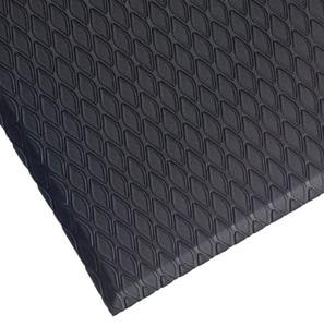 M+A Matting Cushion Max™ 72 x 5/8 in. Anti-Fatigue Mat in Black (Less Hole) A4144672