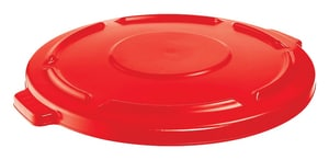 Rubbermaid Brute® 44 gal Container Lid in Red RFG264560RED