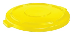 Rubbermaid Brute® 44 gal Container Lid in Yellow RFG264560YEL