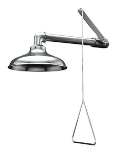 Guardian Equipment GS-Plus™ Horizontal Mount Emergency Shower with Stainless Steel Shower Head GG1643SSH