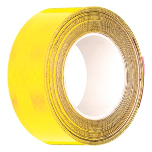 2 in. x 30 ft. Reflective Tape in Yellow HRF2YL at Pollardwater