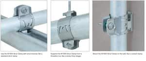 Walraven 1/2 in. Steel Strut Pipe Clamp W2015021