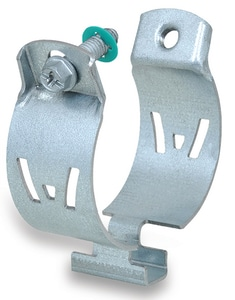 1-1/2 in. IPS Zinc Magnesium Strut Clamp for 18 - 60mm Steel Pipes and EMT Conduits W2015048