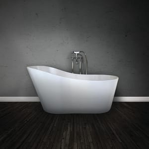 Hydro Systems Rodeo 61 x 32 in. Freestanding Bathtub with Right Drain in White HFWROD6132HTO