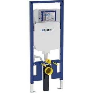 Geberit Sigma 1.28 gpf Floor Mount Toilet Tank in White G111597001