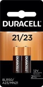 Duracell 12V 21/23 Alkaline Battery 2-Pack DMN21B2PK