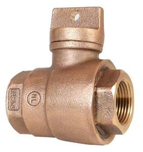 Legend Valve & Fitting 3/4 in. FIP Brass Curb Stop L314254NL