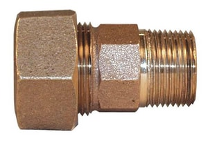 Legend Valve & Fitting 2 in. Compression x MIP Bronze Coupling L313148NL