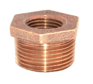 Legend Valve & Fitting 4 x 3 in. Threaded Bronze HEX Bushing L310507NL