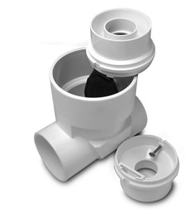 Rectorseal Clean Check® 4 in. PVC Solvent Weld Backwater Valve REC97024