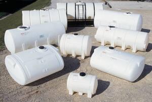 Snyder 60 gal HDLPE Horizontal Tank S1060000N45 at Pollardwater